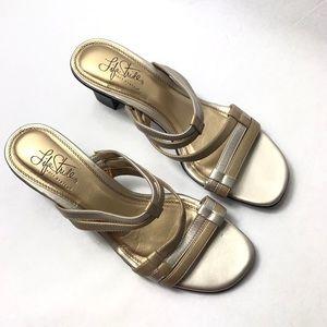 """Life Stride """"Snappy"""" Women's Heel Sandals"""